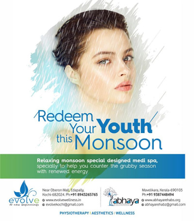 Redeem your youth this monsoon!