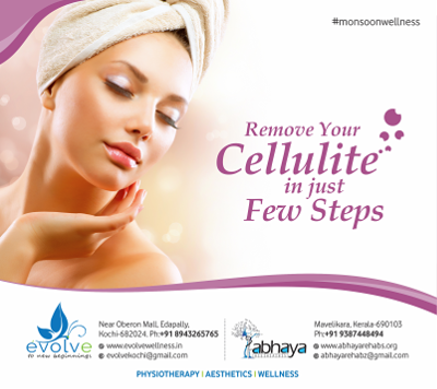 Fight cellulite by getting rid of toxins