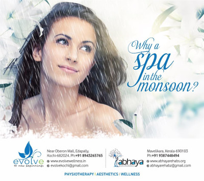 Why a spa in this monsoon?